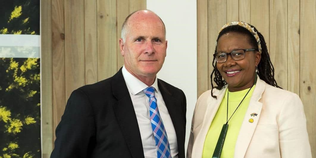South African High Commissioner Visits Seequent HQ