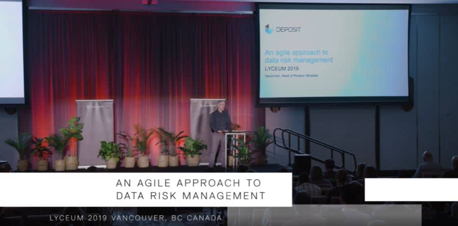 An Agile Approach to Data Risk Management